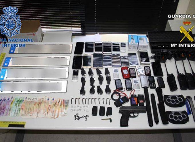 Detenidos los autores de un robo en enero en una tienda de telefonía en Cuéllar