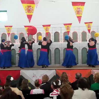 Flamenco y sevillanas para celebrar la Feria de Abril en Fuenterrebollo