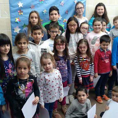 Los alumnos del CEIP Juan de Rodrigo de Cogeces del Monte recaudan 744 euros a beneficio de la Asociación Debra