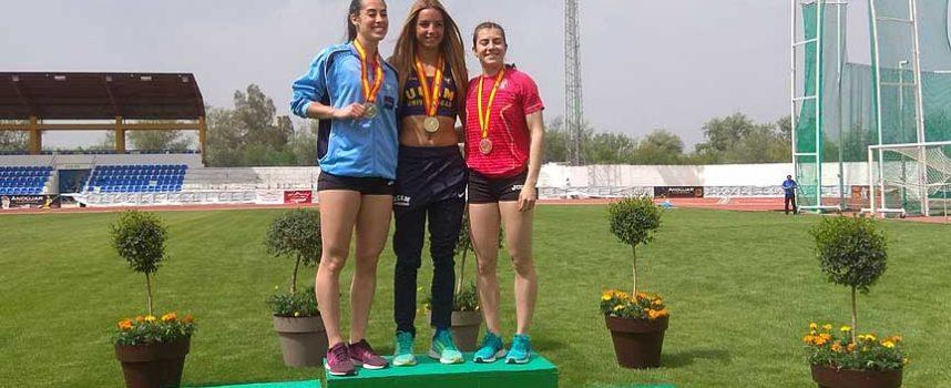Ángela García logró el bronce en el Campeonato de España Universitario disputado en Andújar