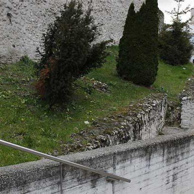 Patrimonio autoriza la actuación en el jardín del talud de la calle Nueva