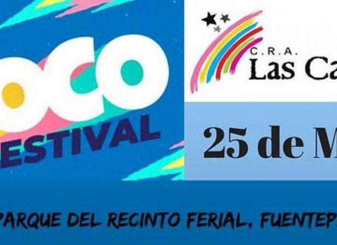 El CRA Las Cañadas se une a ACNUR en la celebración del festival solidario más grande de España