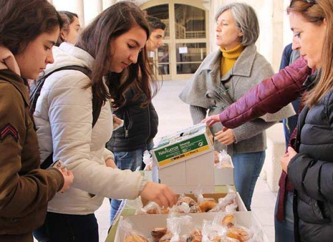Almuerzo solidario en los centros de primaria y secundaria de la villa a beneficio de las enfermedades raras