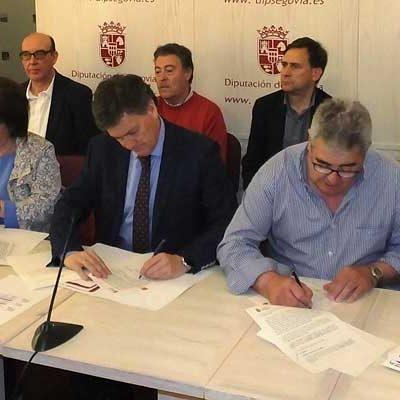 La Diputación invertirá 48.000 euros en la mejora de infraestructuras en Fuentepelayo y Fuenterrebollo