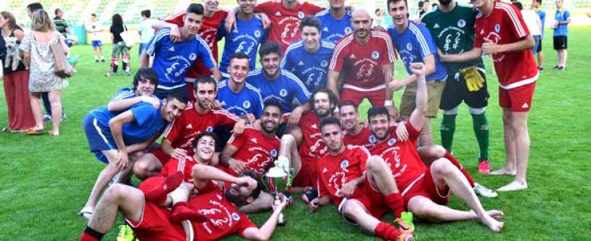 Higinio, en la prórroga, da el triunfo en la Copa al Cuéllar (1-2)