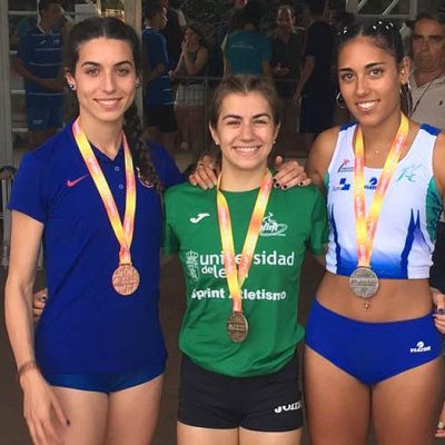 Ángela García consigue el oro en el Campeonato de España Sub20 con su mejor marca personal
