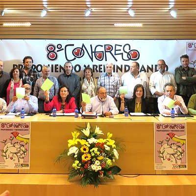 Rosa Arranz y Javier Esteban, representantes de la comarca en la nueva ejecutiva de UCCL Castilla y León