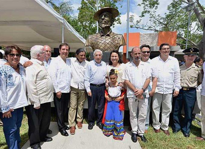 El Estado de Tabasco (México) homenajea al cuellarano Juan de Grijalva en el V Centenario de su llegada en 1518