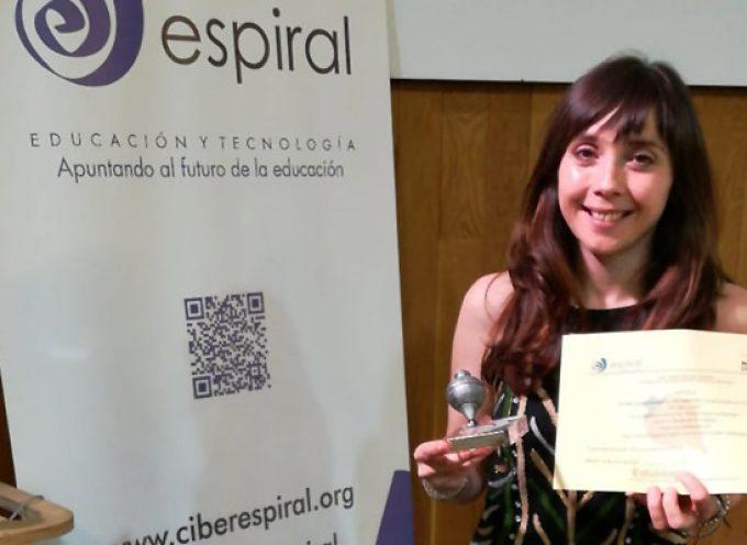 Peonza de plata para el colegio San Gil en los premios Espiral Edublogs