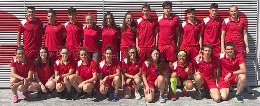 Las cuellaranas Marina Muñoz y Paula Zarzuela rumbo al Triatlón por Autonomías de Badajoz