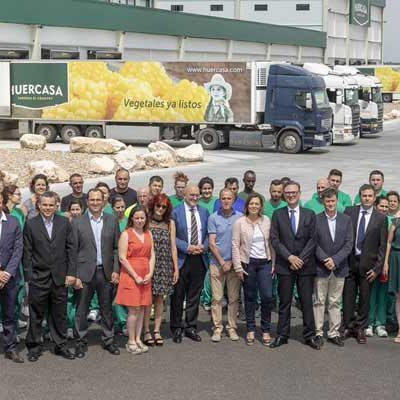 Huercasa inaugura su nuevo centro logístico en San Miguel del Arroyo