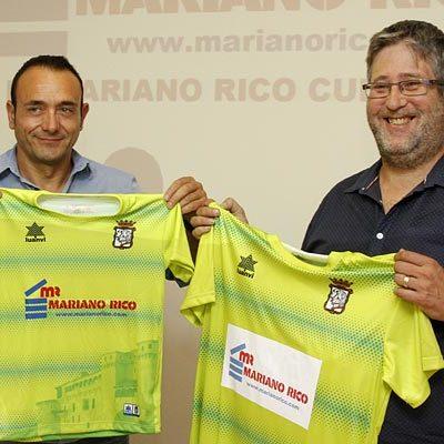 Mariano Rico S.L. patrocinará al FS Cuéllar las dos próximas temporadas