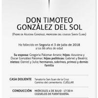 Timoteo González del Sol
