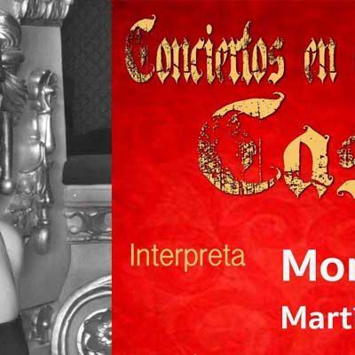 Montserrat Martí Caballé se subirá el sábado al escenario del Castillo de Cuéllar
