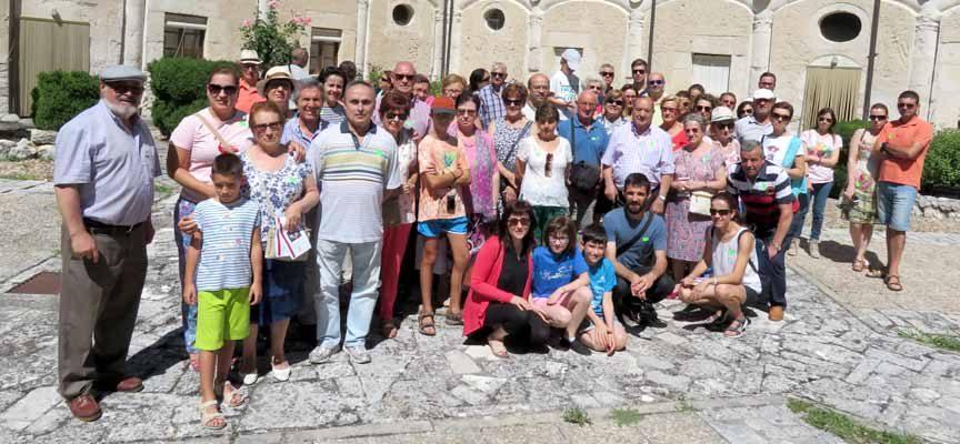 Dos centenares de personas participaron en la actividad `Con el Patrimonio, puntualmente´