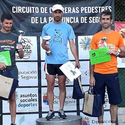 El olombradeño David Valentín y Milagros Fernández se impusieron en la `Run to Terreña´