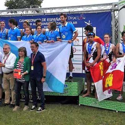 Marina Muñoz contribuyó al bronce de la selección de triatlón regional absoluta en el Campeonato de España por Autonomías