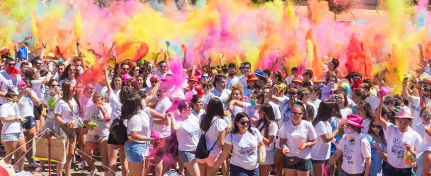 Diversión y color en las fiestas de Cantalejo