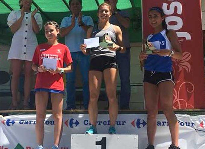 Angela García vencedora junior de la XXI Milla de Selaya