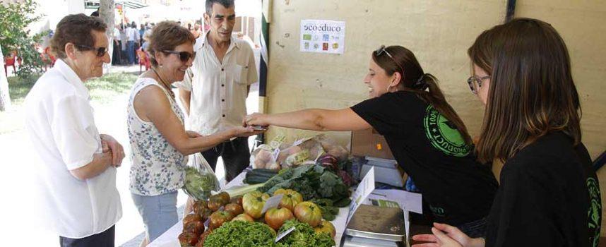 Campo de Cuéllar acogió con éxito su VII Feria Ecológica