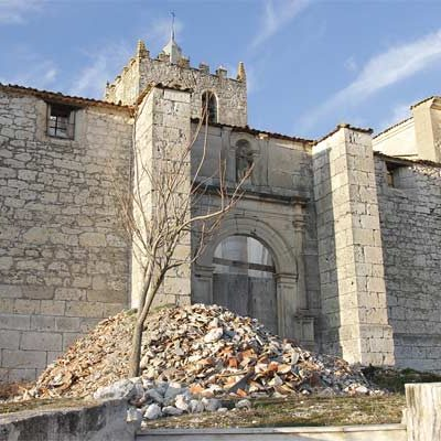 Abren una recogida de firmas para pedir al Ministerio de Cultura la restauración de la iglesia de Fuentes de Cuéllar