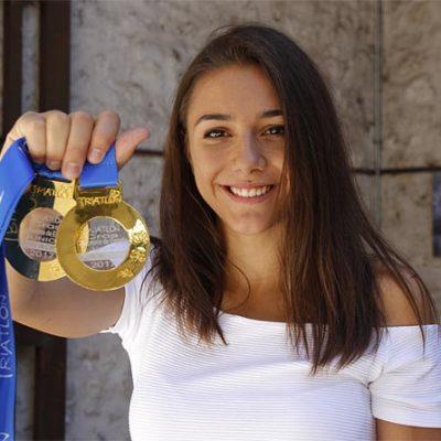 La Federación Española convoca a Marina Muñoz para el Campeonato de Europa Junior de Duatlón