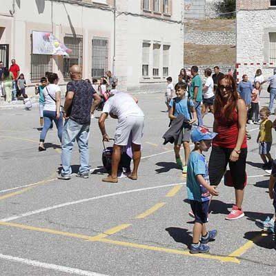 Los colegios de Cuéllar inician con normalidad el nuevo curso con 744 alumnos