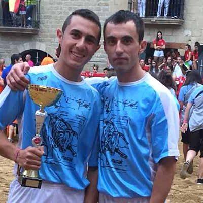 El cuellarano Miguel de Blas ganador del concurso de cortes de Uncastillo (Zaragoza)