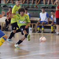 El FS Cuéllar juvenil cayó ante el Amistad de Burgos en el debut de temporada