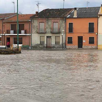 El PSOE lleva a las Cortes las consecuencias de las inundaciones en Vallelado