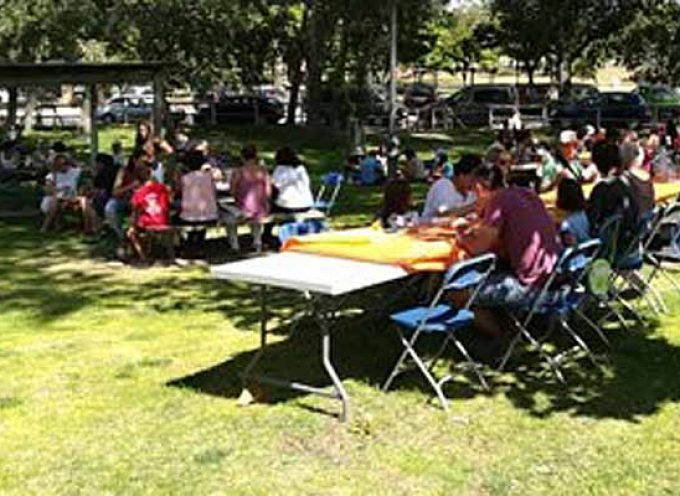 La Agrupación Socialista de Carbonero el Mayor celebra una paella solidaria