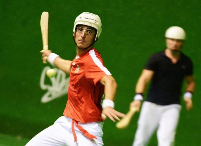 El valleladense Carlos Baeza e Imanol Ibáñez llevan a España a la Final del Mundial de Pelota en pala corta