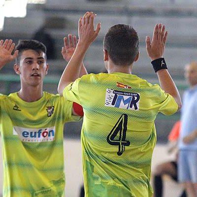 El FS Cuéllar juvenil sumó sus primeros tres puntos frente a La Lastrilla