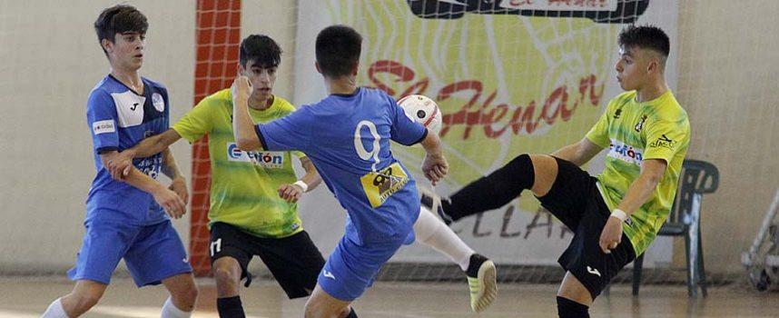 Segunda victoria consecutiva para el FS Cuéllar juvenil