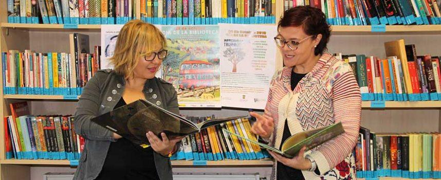 La Biblioteca Municipal `Cronista Herrera´ celebra el `Día de las Bibliotecas´ con el Mercadillo del Trueque