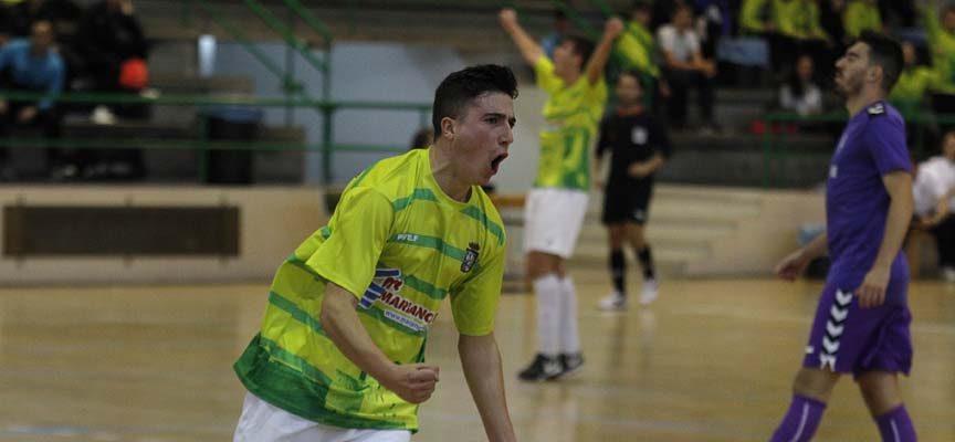 El FS Cuéllar consigue ante el Santurtzi su segunda victoria consecutiva y se aleja del descenso
