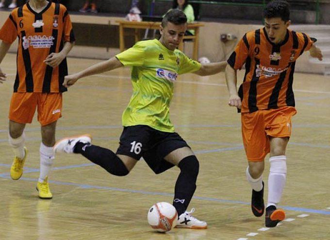 El FS Cuéllar juvenil sumó tres valiosos puntos frente al Benavente