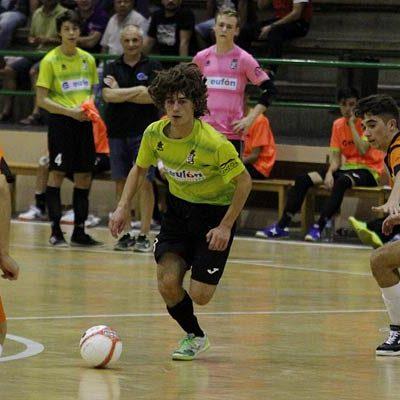 El FS Cuéllar juvenil sumó tres puntos frente al Valverde