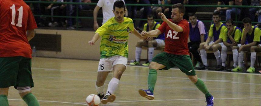 Un FS Cuéllar con muchas bajas acaba el año con derrota en la pista del Otxartabe