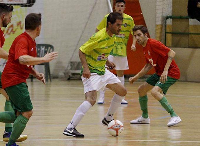 El FS Cuéllar pierde un partido igualado ante el AD San Juan