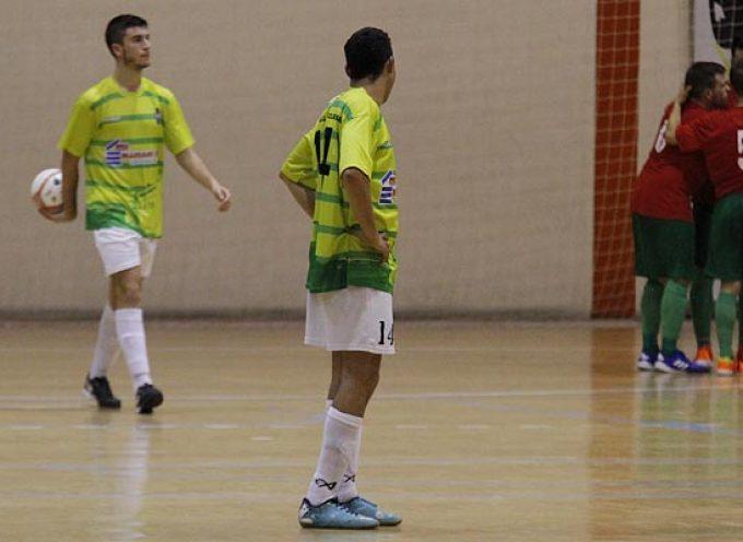 El FS Cuéllar remontó un 3-0 pero acabó perdiendo ante el Zierbena