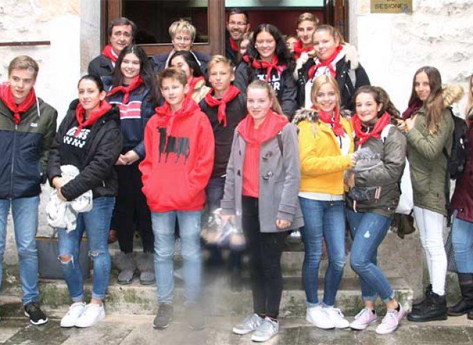 Alumnos del IES Duque de Alburquerque participan en el intercambio con la Goetheschule de Dieburg