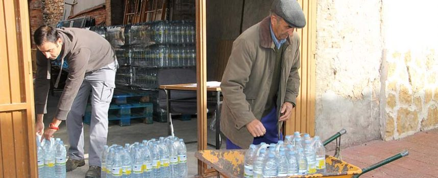 Los vecinos de Lastras de Cuéllar reclaman una solución definitiva al problema del agua
