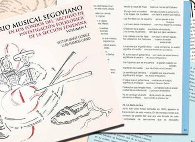 Luis Ramos y Víctor Sanz presentarán en Cuéllar el repertorio musical extraído de los fondos de la Sección Femenina