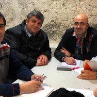 Ciudadanos realiza en Cuéllar una primera jornada de puertas abiertas a los vecinos del municipio