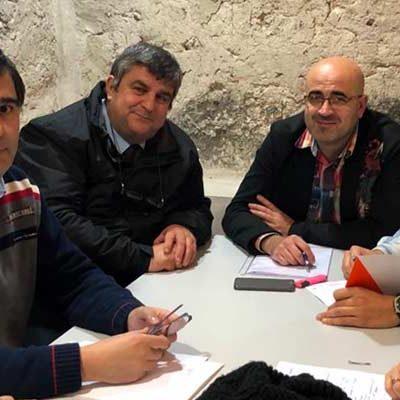 Ciudadanos Cuéllar se interesa por las inversiones en Educación en la villa