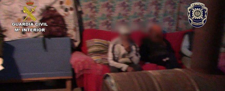 La Guardia Civil desarticula una organización criminal de trata de seres humanos que actuaba en Tierra de Pinares
