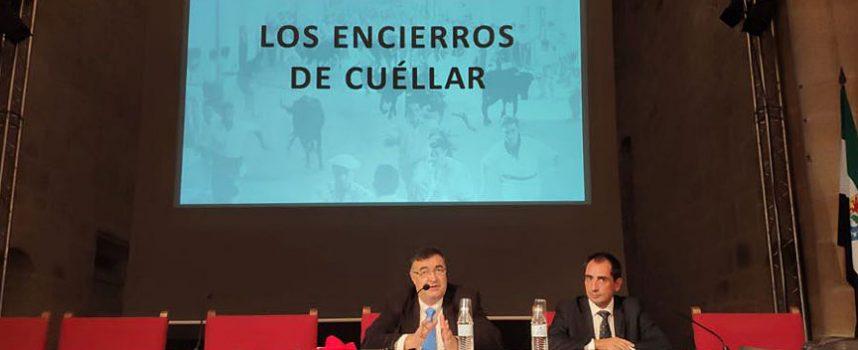 El concejal de Festejos acercó los encierros cuellaranos al III Foro Internacional de Festejos Taurinos de Cáceres