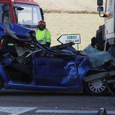 Fallece un segundo ocupante del vehículo accidentado en la SG-205 el 15 de noviembre