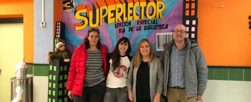 La portavoz regional de Educación de Ciudadanos denuncia el mal estado del colegio público San Gil de Cuéllar